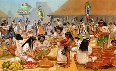 imagenes mayas economia aztecas econom 237 a socialhizo
