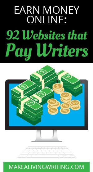 Real Make Money Online Sites - earn money online 92 websites that pay writers 50