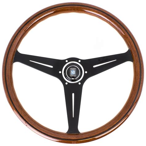 steering wheel nardi steering wheel wood with black spokes