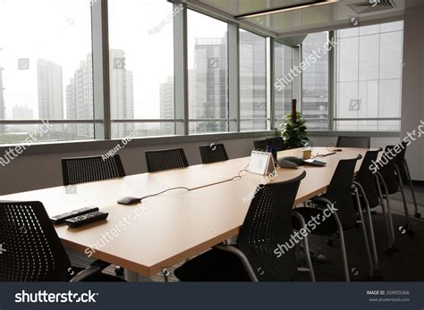 boardroom or board room business meeting room or board room interiors stock photo 204955366
