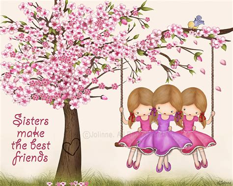 Sis Likes Shopping Testimony 3 Cherry Blossom Postersisters Make The Best Friends