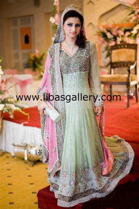 Pakistani Bridal Dresses for Barat Mehndi Walima 2013 Collection, Online Shopping in Suffolk