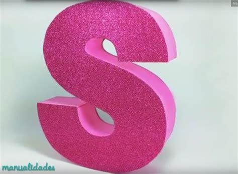 como decorar letras en papel letras en 3d hechas en cart 243 n para decorar