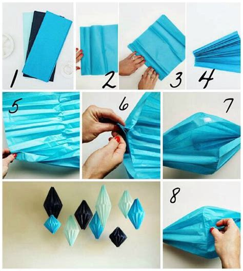 How To Make Paper Decor - room decor out of paper diys