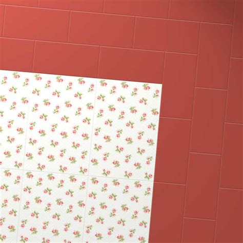 rose pattern vinyl flooring rose sprig white floor tile cath kidston for harvey maria