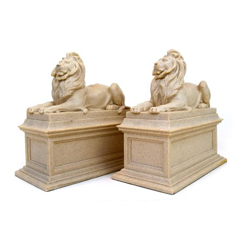 lion desk vs wise agent library lion bookends the new york public library shop