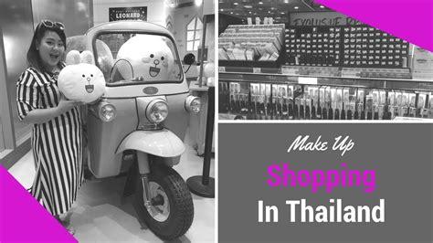 Nyx Di Sephora vlog 1 tempat belanja makeup di thailand sephora boots