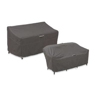 small outdoor loveseat classic accessories ravenna patio loveseat cover small