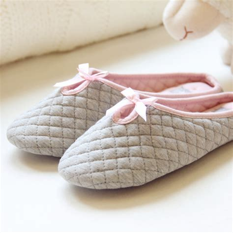 slippers with soft bottoms 2016 autumn and winter ms bow slippers indoor soft