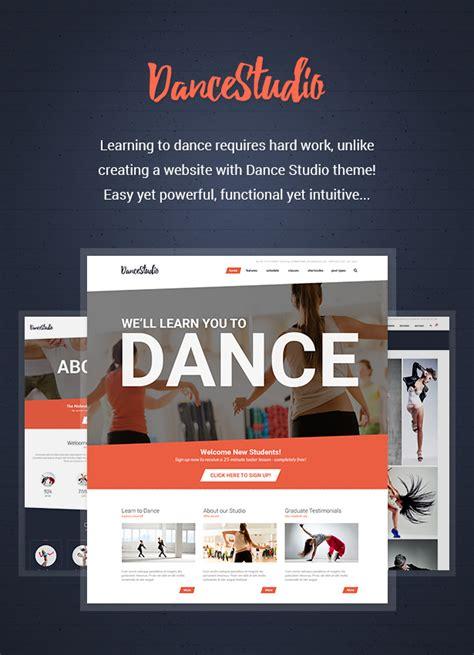 theme wordpress dance dance studio wordpress theme for dancing schools clubs