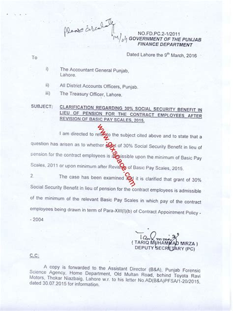 ssb appointment letter gd 2011 clarification regarding 30 ssb for the contract employees