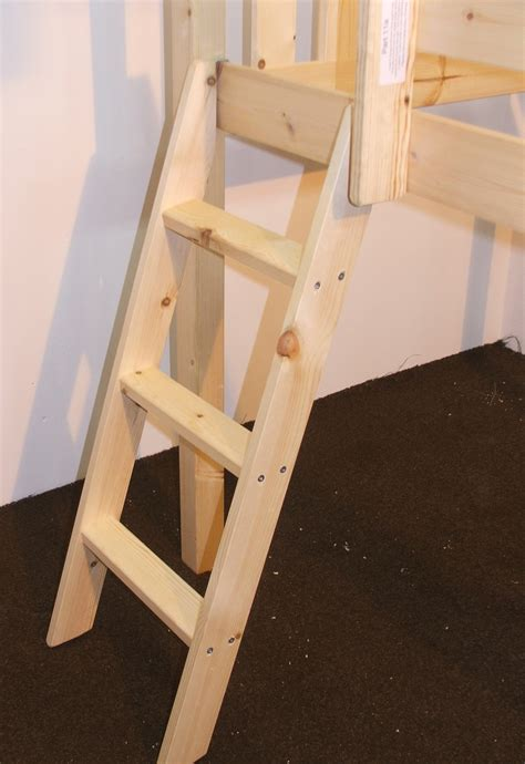 bunk bed ladder bunkbed ladders pine or metal bunk bed ladders