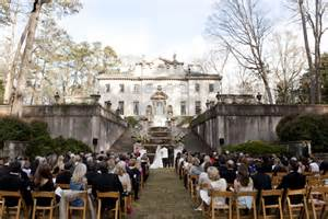 southern wedding swan house