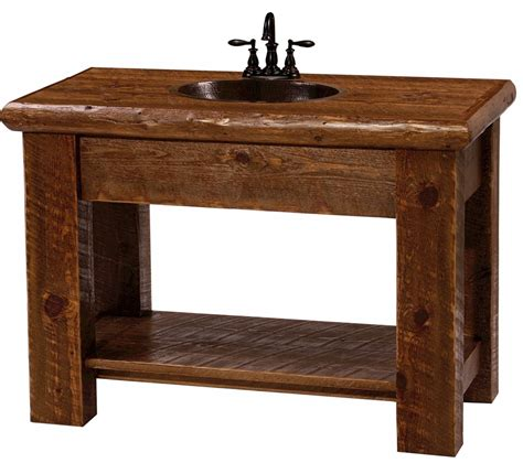 rustic sink vanity rustic bathroom sink vanities
