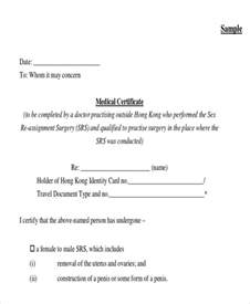 sample medical certificate formats 13 examples in pdf word