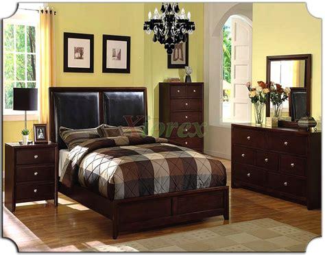 bedroom furniture set  leather panel headboard beds  xiorex