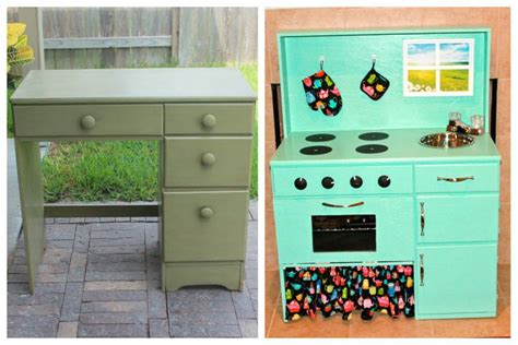 homemade play kitchen ideas before and after diy play kitchen my diy projects