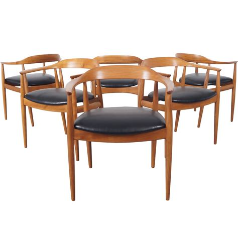 danish modern dining room furniture danish modern dining chairs by niels eilersen for sale at