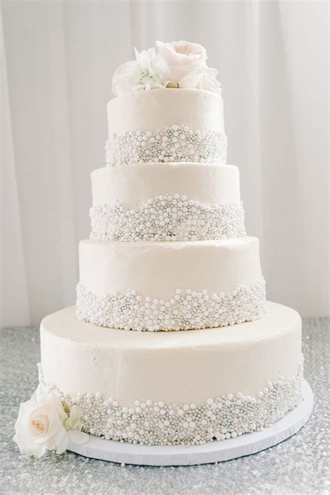 Wedding Cake Ideas by 25 Fabulous Wedding Cake Ideas With Pearls