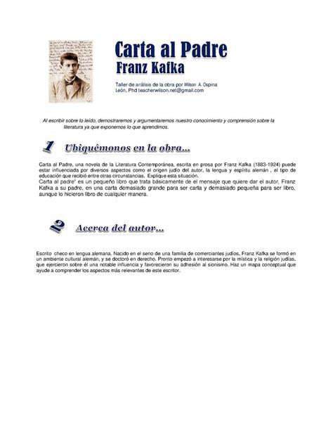 carta al padre edition books calam 233 o taller de carta al padre de franz kafka