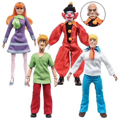 Scooby Doo 8 by Scooby Doo 8 Inch Retro Series 1 Figures Set