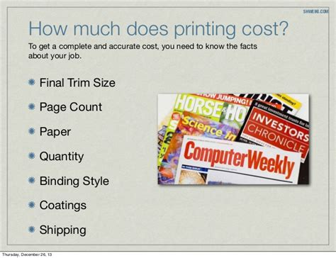 how much does it cost to get a neutered how much does it cost to print a magazine
