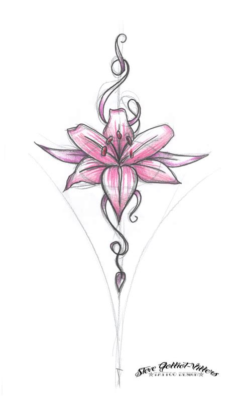 flower design by stevegolliotvillers on deviantart