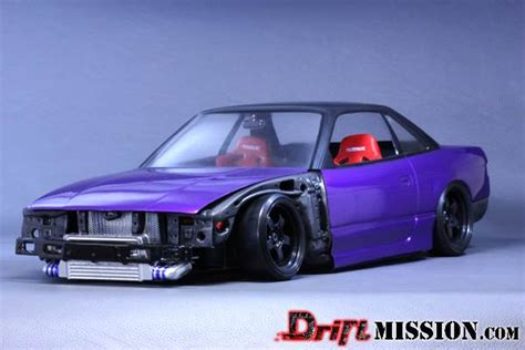 rc drift cars pandora rc nissan silvia s13 body parts driftmission your