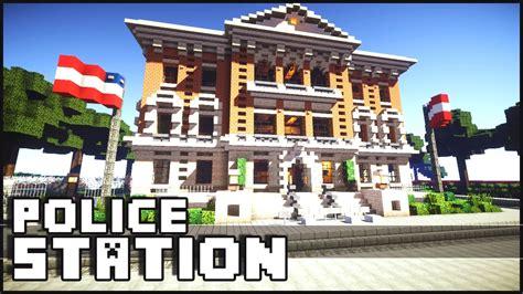 minecraft police minecraft police station youtube