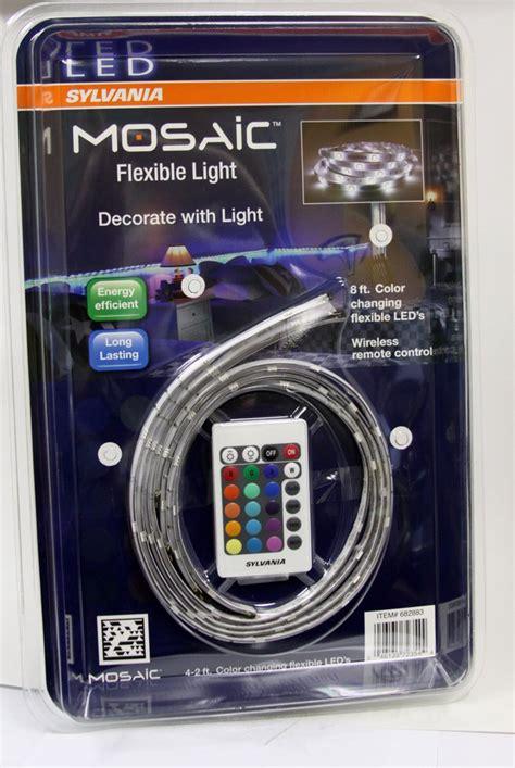 mosaic led light strips sylvania led light kit shelly lighting