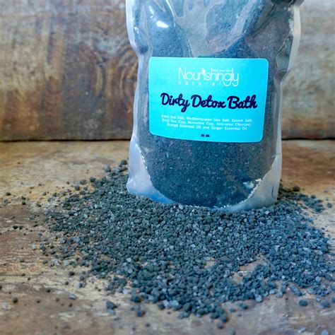 Detox Bath With Activated Charcoal by Detox Bath With Activated Charcoal Charcoal Bath Soak