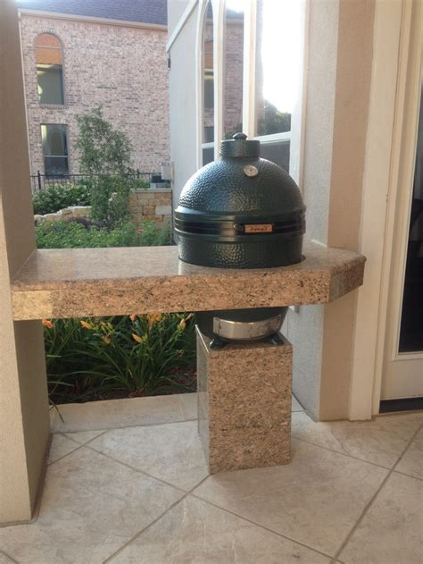 Kitchen Kapers Big Green Egg The Big Green Egg Outdoor Kitchen Ideas