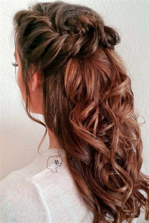 hairstyles for christmas party long hair 18 nice holiday half up hairstyles for long hair