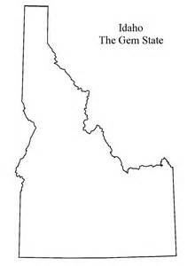 Idaho County Map Outline by Idaho Outline Favorite Places Spaces