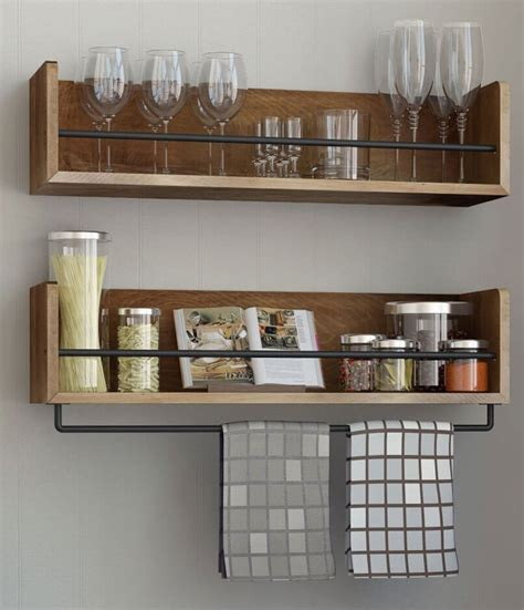 kitchen bookshelf ideas floating shelves insteading