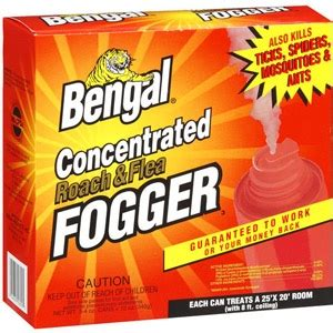 bengal concentrated roach & flea fogger, 3ct | powell feed