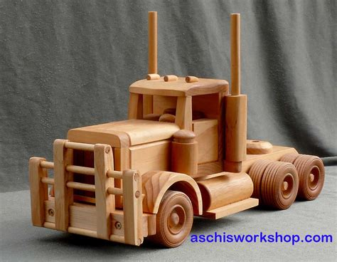 wooden truck free toy plans