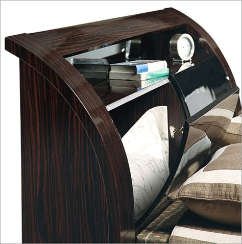 bed with modular glass headrest maria 35b42 bed with modular glass headrest maria 35b42