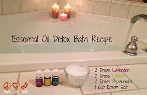 Lavender Detox Bath by Essential Detox Bath Lavender Essential Lemon