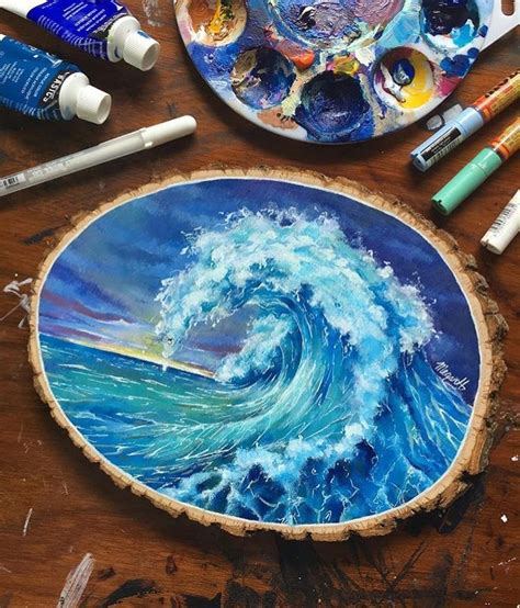 kinderzimmer wellen malen best 25 painting on wood ideas on painted