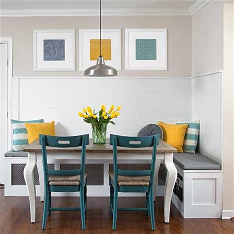 Dining Room Banquette Home Dzine Home Diy Ideas Banquette For Kitchen Or Dining Room