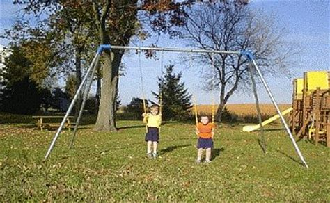 large metal swing sets residential steel metal swing sets 8ft s82