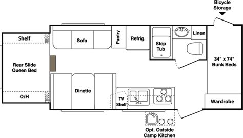 outback floor plans 2007 keystone outback travel trailer rvweb com