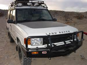 2003 land rover discovery 2 front bumper
