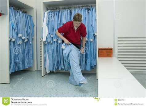 cleanroom clothing stock image image  cleanroom work