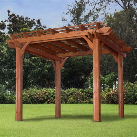 Pergola Gazebo Canopy 10x10 Outdoor Garden Patio Backyard