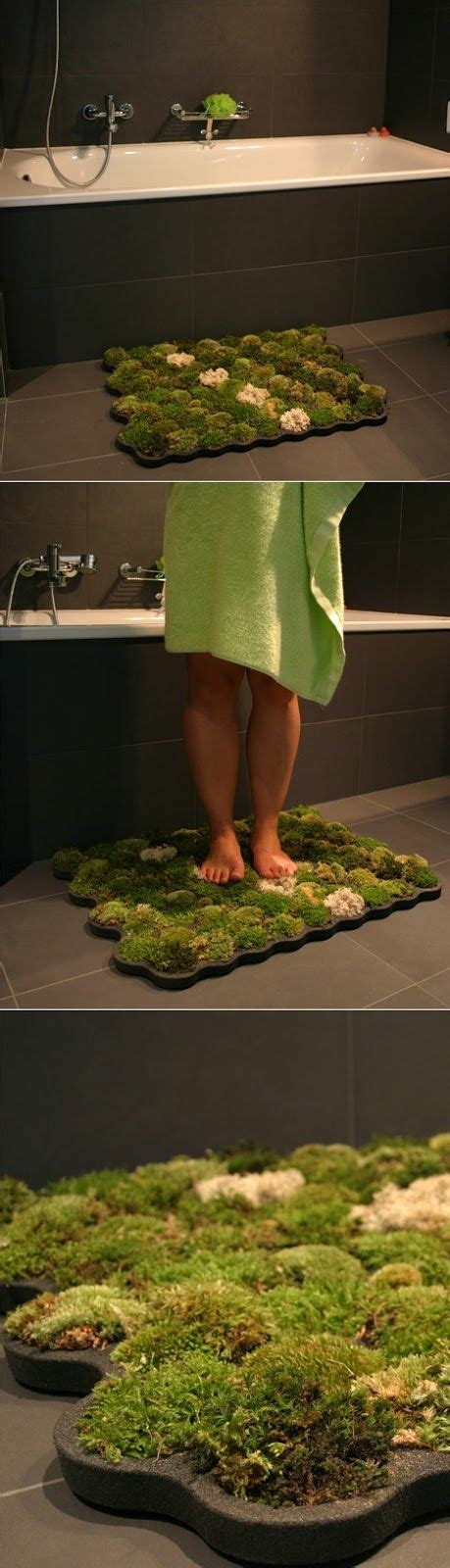 real moss bath mat it s alive 13 exles of green growing furniture