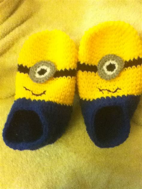knitted minion slippers 17 best images about crochet on free pattern