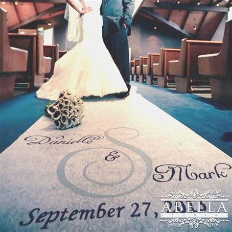 Wedding Aisle Runner Glitter by Wedding Aisle Runner New Personalized Painted