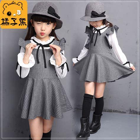 girl school x 10 age school girls dress set for teens long sleeve shirt age
